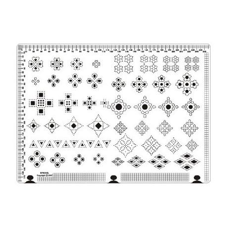 Siesta grille parchemin 25x18cm SPB002L