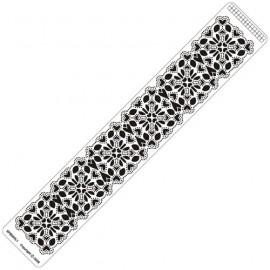 Siesta grille parchemin règle 4x25cm SPB003LR