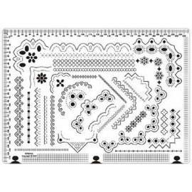 Siesta grille parchemin 25x18cm SPB004L