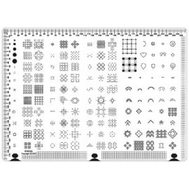 Siesta grille parchemin 25x18cm SPB005L