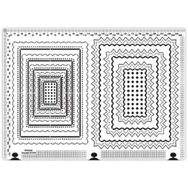 Siesta grille parchemin cadre 25x18cm SPB006L