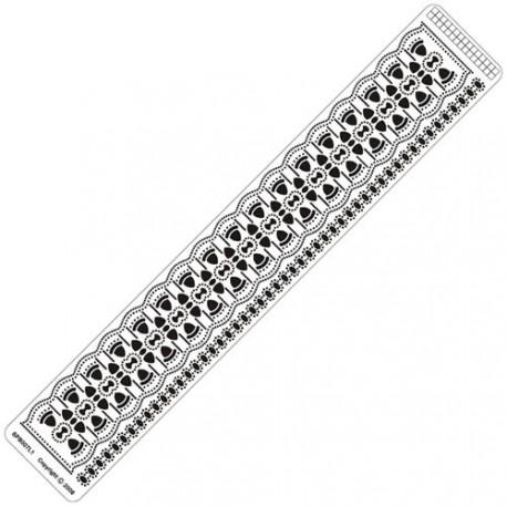 Siesta grille parchemin règle 4x25cm SPB007LR