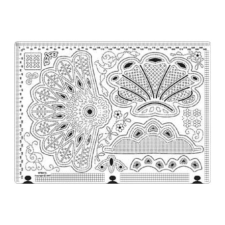 Siesta grille parchemin 25x18cm SPB011L
