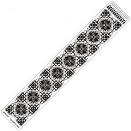 Siesta grille parchemin règle 4x25cm SPB013LR