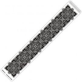 Siesta grille parchemin règle 4x25cm SPB014LR