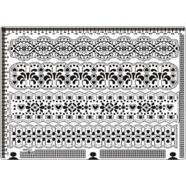 Siesta grille parchemin 25x18cm SPB015L