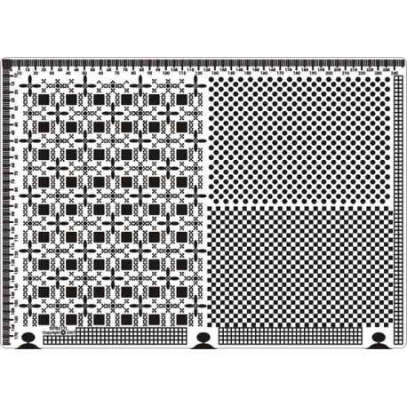 Siesta grille parchemin 25x18cm SPB017L