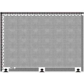 Siesta grille parchemin droite 25x18cm SPB018L