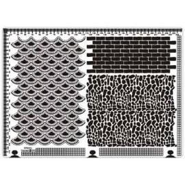 Siesta grille parchemin 25x18cm SPB021L