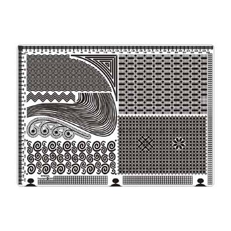 Siesta grille parchemin 25x18cm SPB022L