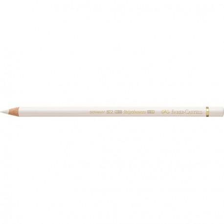 Crayon Faber Castell polychromos blanc 101 à l'unité
