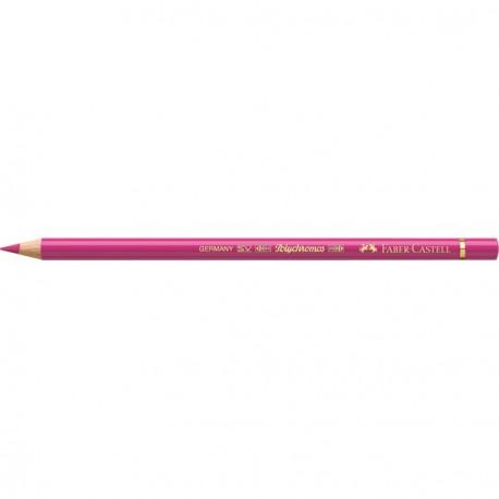 Crayon Faber Castell polychromos fuchsia 123 à l'unité