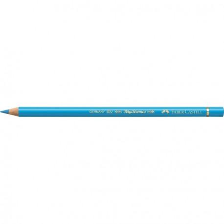 Crayon Faber Castell polychromos bleu phtalo clair 145 à l'unité