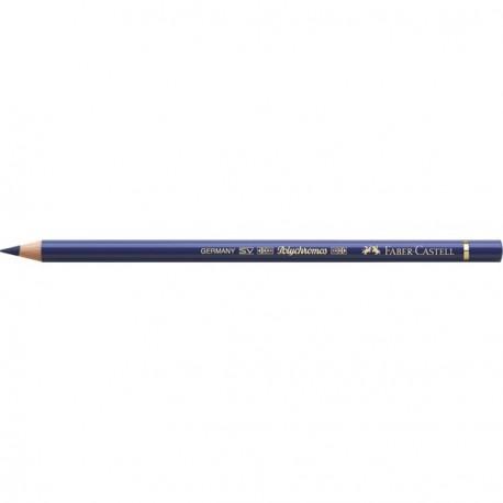 Crayon Faber Castell polychromos bleu hélio rougeâtre 151 à l'unité