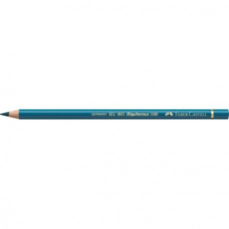 Crayon Faber Castell polychromos turquoise colbalt 153 à l'unité