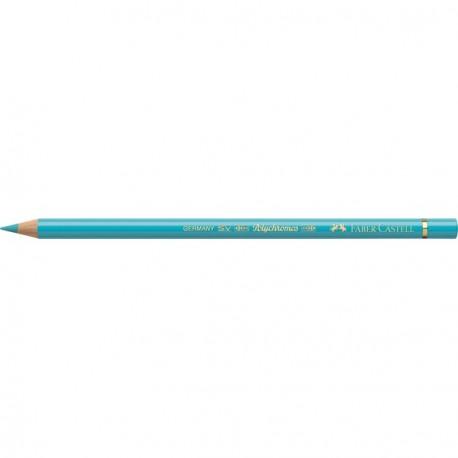Crayon Faber Castell polychromos turquoise colbalt clair 154 à l'unité