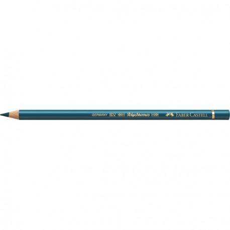Crayon Faber Castell polychromos turquoise hélio 155 à l'unité