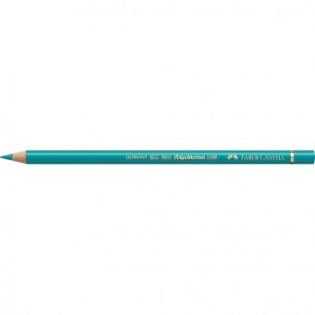 Crayon Faber Castell polychromos vert cobalt 156 à l'unité