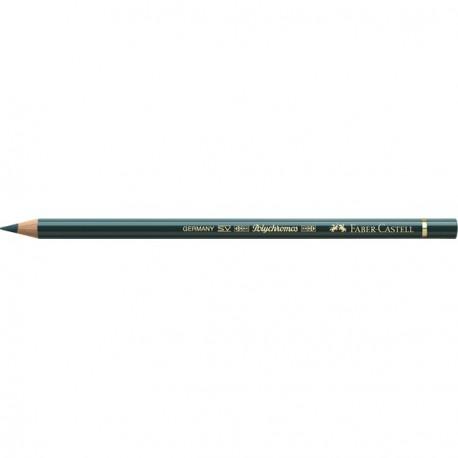 Crayon Faber Castell polychromos vert intense 158 à l'unité