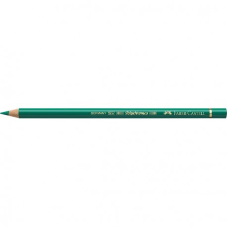 Crayon Faber Castell polychromos vert phtalo 161 à l'unité