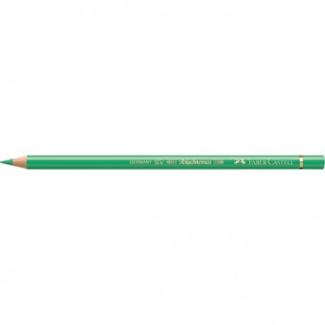 Crayon Faber Castell polychromos vert phtaloclair 162 à l'unité