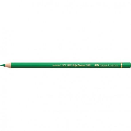 Crayon Faber Castell polychromos vert émeraude 163 à l'unité