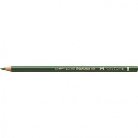 Crayon Faber Castell polychromos vert permanent olive 167 à l'unité