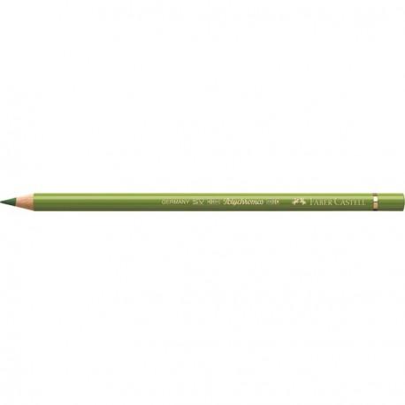 Crayon Faber Castell polychromos terre verte jaunâtre 168 à l'unité
