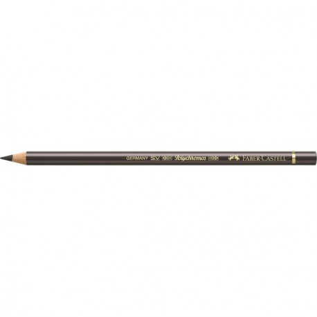 Crayon Faber Castell polychromos sépia foncée 175 à l'unité