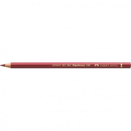 Crayon Faber Castell polychromos rouge cadmium moyen 217 à l'unité