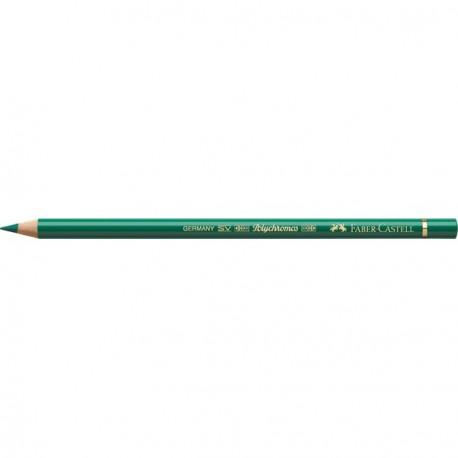 Crayon Faber Castell polychromos vert phtalo foncé 264 à l'unité
