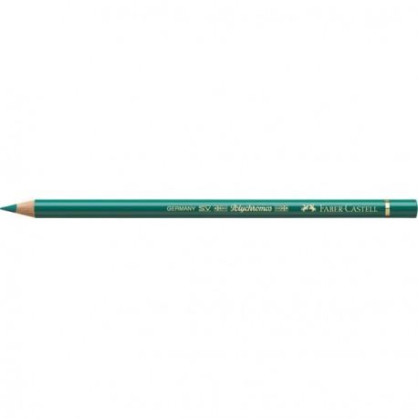 Crayon Faber Castell polychromos vert oxyde chrome ardent 276 à l'unité