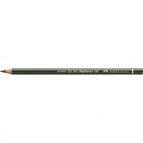 Crayon Faber Castell polychromos vert oxyde chrome 278 à l'unité