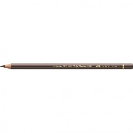 Crayon Faber Castell polychromos ombre brûlée 280 à l'unité