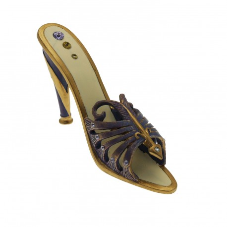 Chaussure miniature de collection horoscope sagittaire