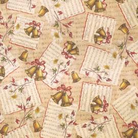 Papier tassotti motifs chants de noël