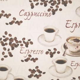 Papier tassotti motifs café