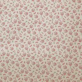 Papier tassotti motifs semis fleurs roses