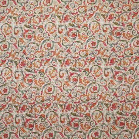 Papier tassotti motifs anges et arabesques