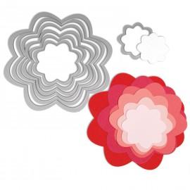 Dies de découpe matrice Sizzix fleurs 7 dies