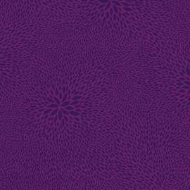 Feuilles décopatch faux unis violet