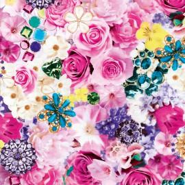 Feuilles décopatch royalties floral