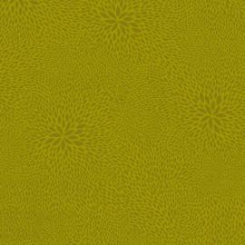 Feuilles décopatch faux unis vert pistache