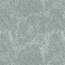 Feuilles décopatch pelages rigolos gris