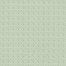 Feuilles décopatch week end à la campagne gris et vert d'eau