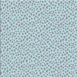Feuilles décopatch pelages rigolos bleu et gris