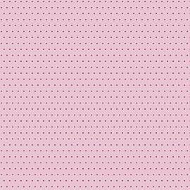 Feuilles décopatch tangram fond rose motifs bleu et rouge