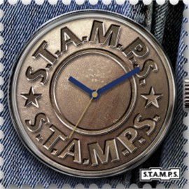 Montre Stamps cadran de montre fly button urban