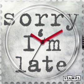 Montre Stamps cadran de montre time wash urban