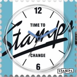 Montre Stamps cadran de montre jersey urban